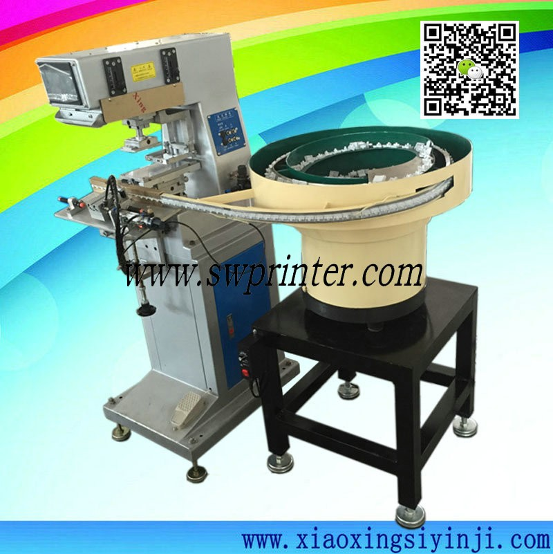 Automatic pad printier with vibration bowl feeder