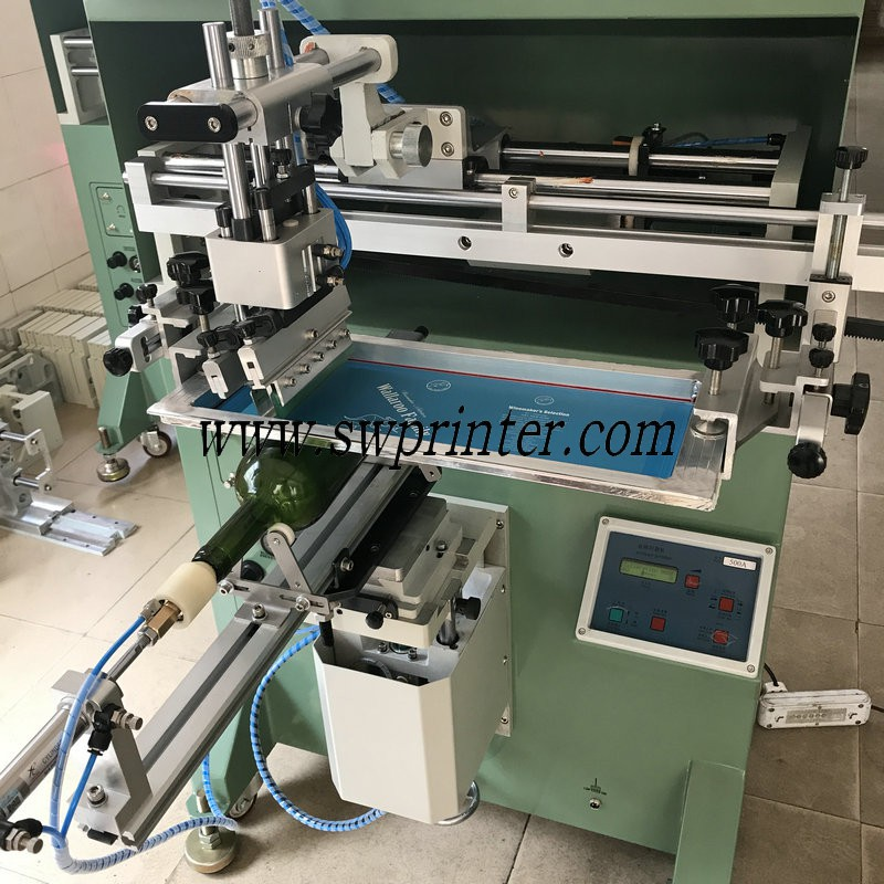 300A round bottle screen printing machine,bottle screen printer
