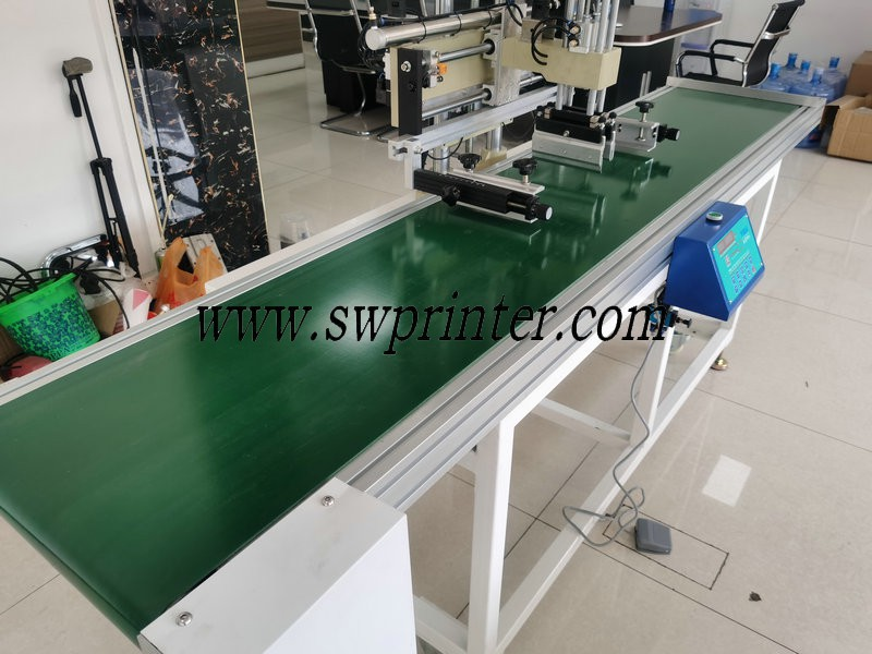 conveyor screen printing machine