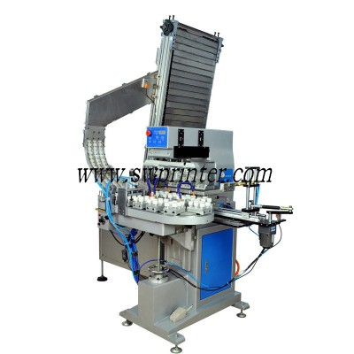 Automatic pad printer for bottle cap
