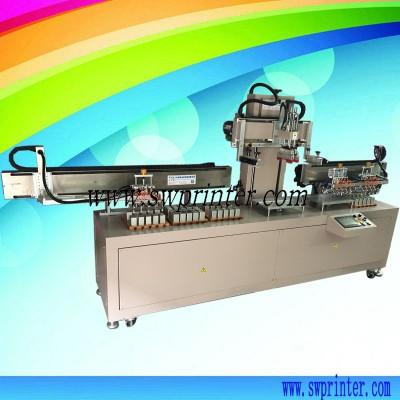 Automatic glue coating machine for metal assembling