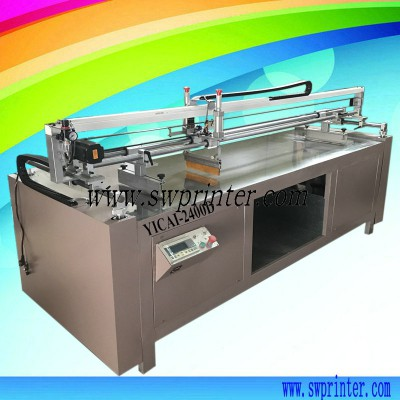 YICAI2400D Corrugated board screen printer printing machine for carton box
