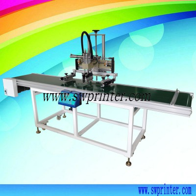 YICAI3050C screen printing machine with conveyor